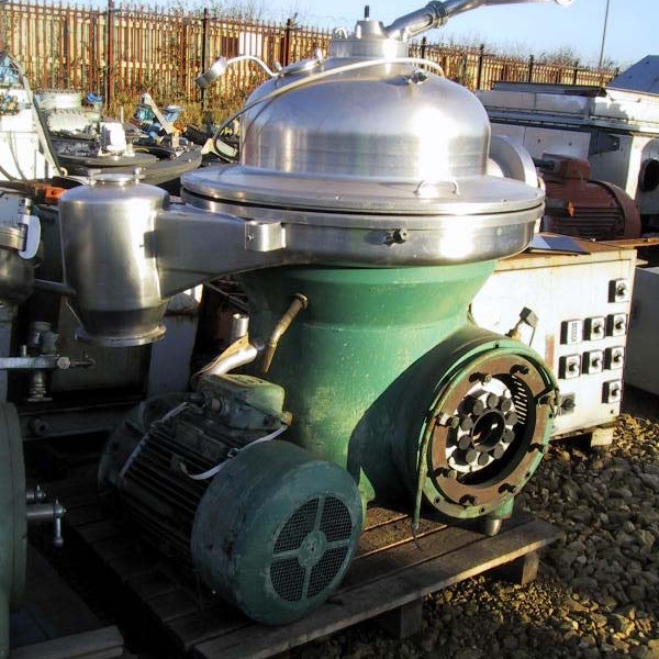 Westfalia Model SAK 20036 (SA 80-06-076) Stainless Steel Clarifier/Desludger Centrifuge