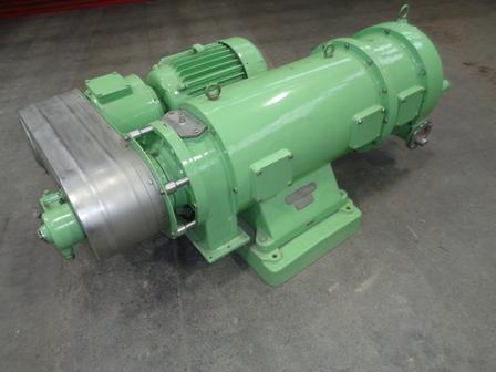 Westfalia Type SDA-360-L 1250mm Bowl Length Stainless Steel Decanter Centrifuge