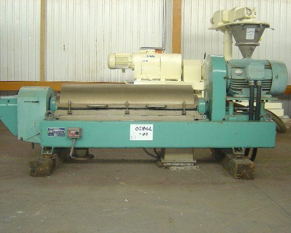 Alfa Laval AVNX 419-B31G-6101-4064-89 Decanter Centrifuge