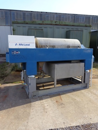 Alfa Laval XMNX 4545 Stainless Steel Decanter Centrifuge