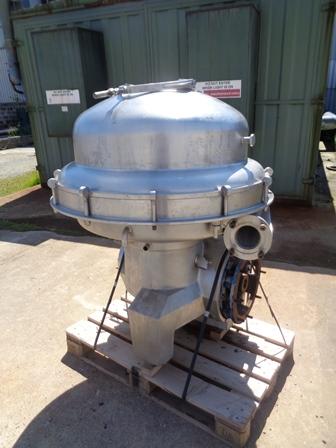 Alfa Laval SRPX-417-HGV-14CH Stainless Steel Separator Centrifuge