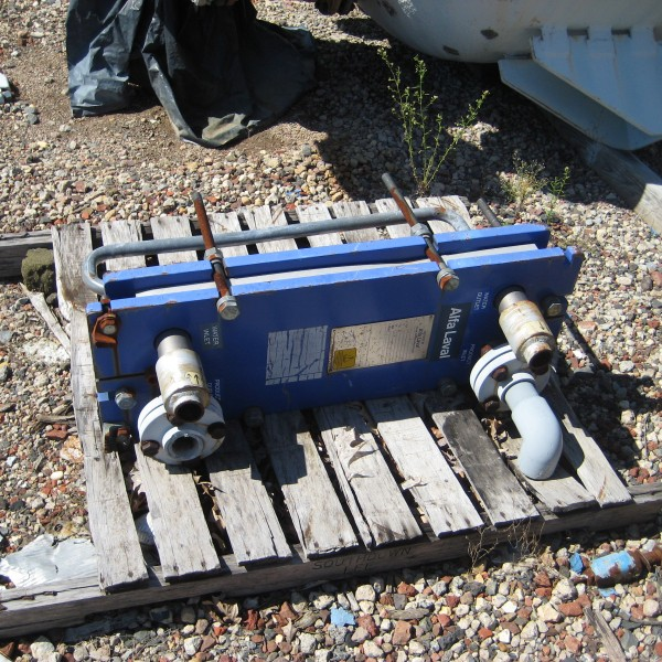 16 Sq. Ft. Alfa Laval Plate Heat Exchanger