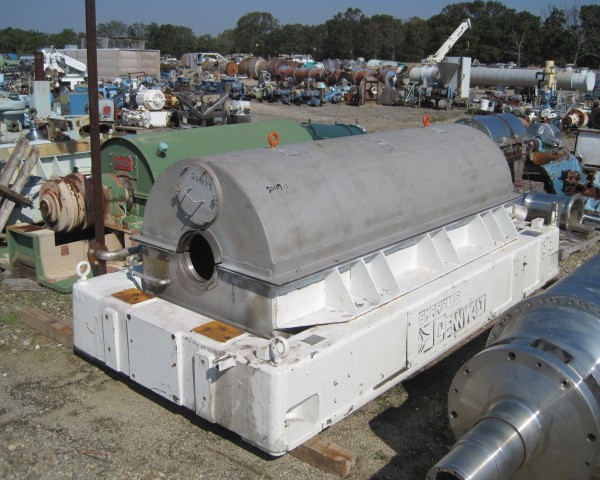 Sharples Pennwalt P5400BD-3 316/317 Solid Bowl Decanter Centrifuge