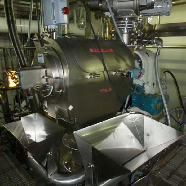 105 Cu.Ft. Feed Hosokawa Alpine Cryogenic Milling System