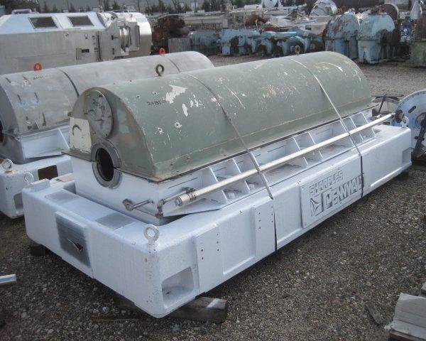 Sharples Pennwalt P5400BD 316/317 Solid Bowl Decanter Centrifuge