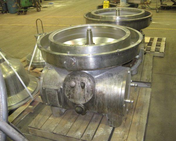 Westfalia Model MSA160-01-076 Stainless Steel Disc Separator