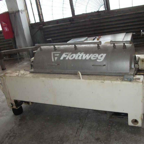 Flottweg Z4D-3/409 470mm Dia Horizontal Sedicanter Centrifuge