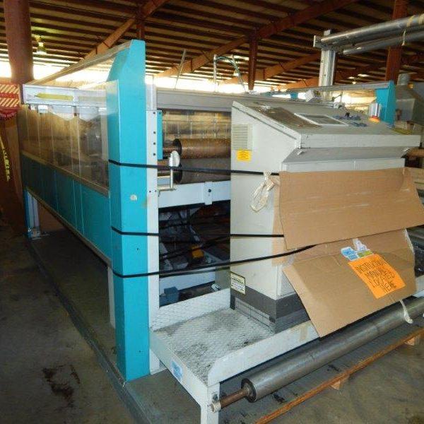 60″ Hauser Model QLA1000 Cross Cutter Sheeter