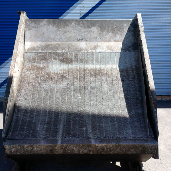 60″ Stainless Steel Inclined Hydrasieve