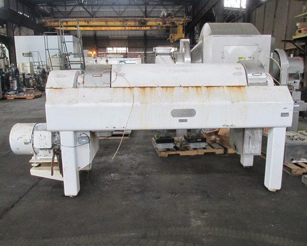 Westfalia CA458-00-02 458/245mm Bowl Dia Stainless Steel Decanter Centrifuge