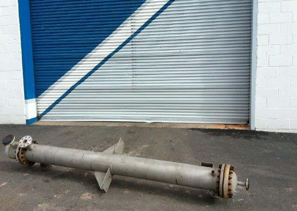 75 Sq. Foot Yula Vertical Shell and Tube Heat Exchanger