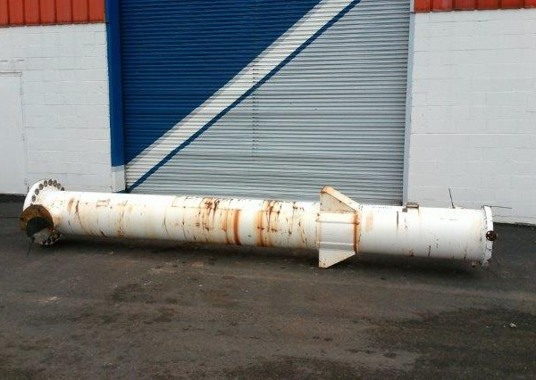 950 Sq. Foot Yula Vertical Shell and Tube Heat Exchanger