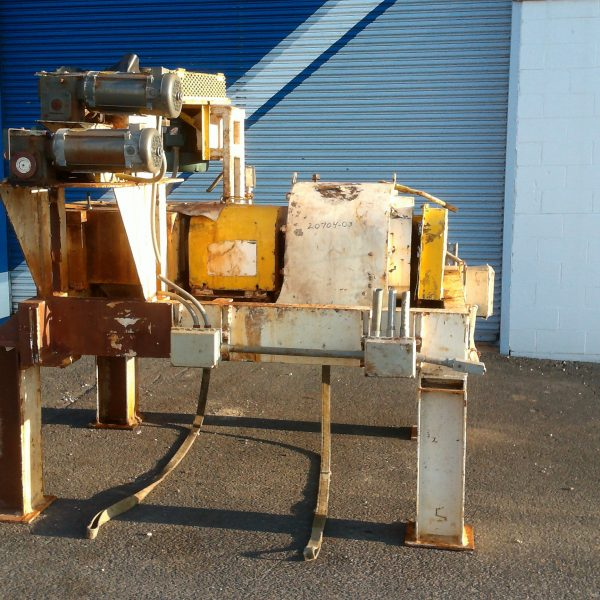 10″ X 7″ Fitzpatrick Model 7LX10D Hastelloy C276 Chilsonator/Roll Compactor