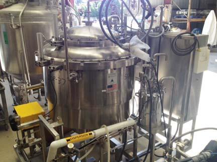 Sweco 316L Stainless Steel Pharmasep Filter Dryer