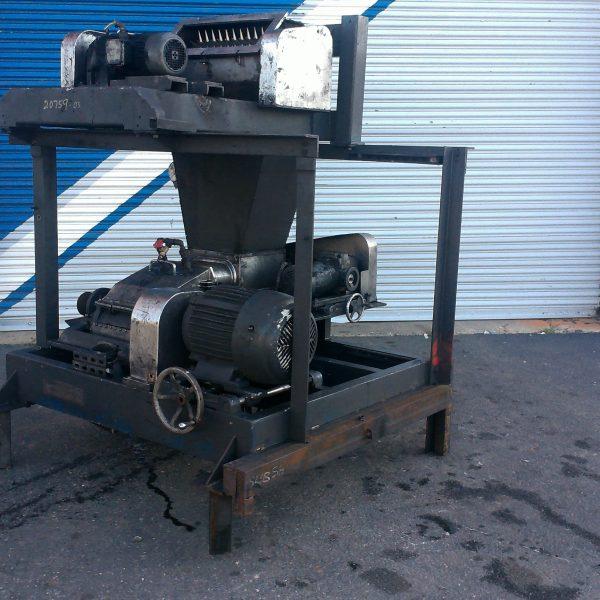 15 HP Stainless Steel Fitzmill Model DKAS 012 Divelling Shredder