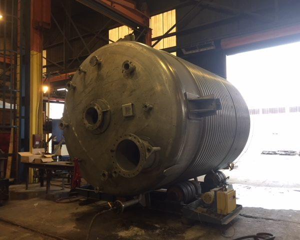 8,000 Gallon 75 PSI Internal, 100 PSI Jacket Reactor Body