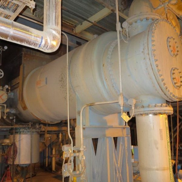 7766 Sq. Foot Graham 2-Pass Shell and Tube Heat Exchanger