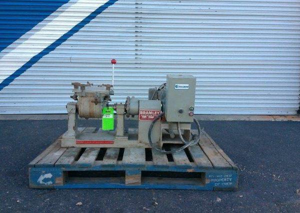 3 Quart (.75 Gallon) Beken Bromley DA Stainless Steel Jacketed Mixer