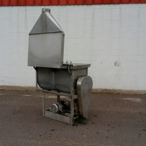 8 Cubic Foot Stainless Steel Double Ribbon Blender