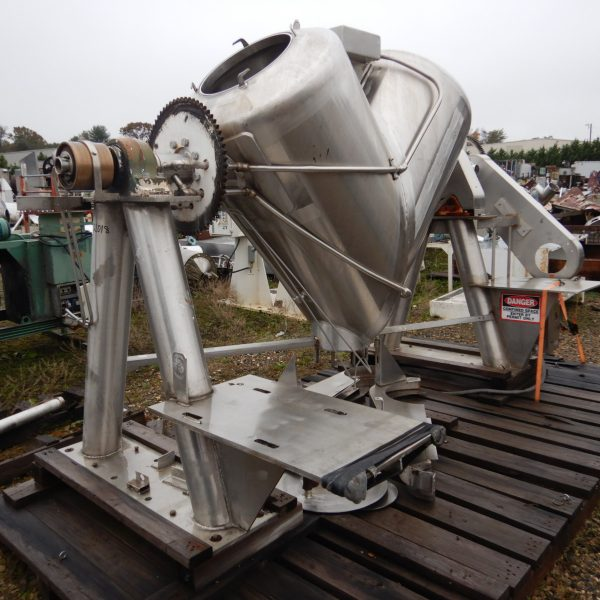 20 Cubic Foot Stainless Steel Jacketed V-Blender