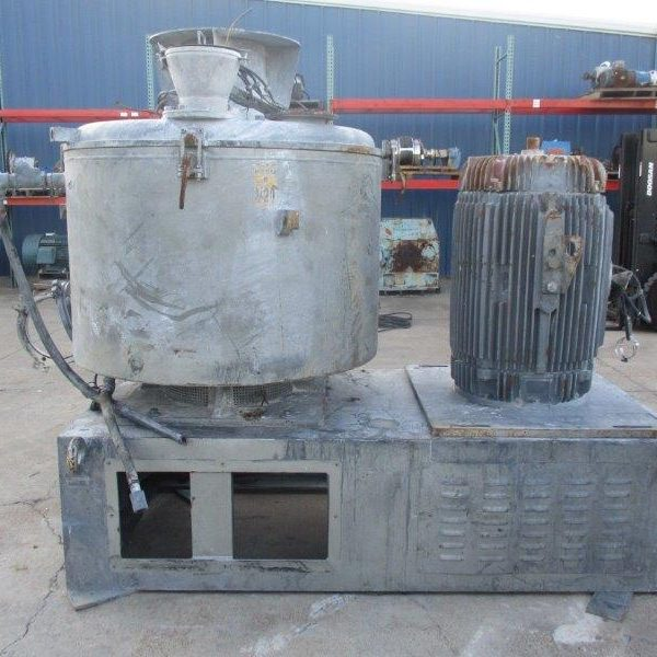 800 Liter Henschell Mixer Parts
