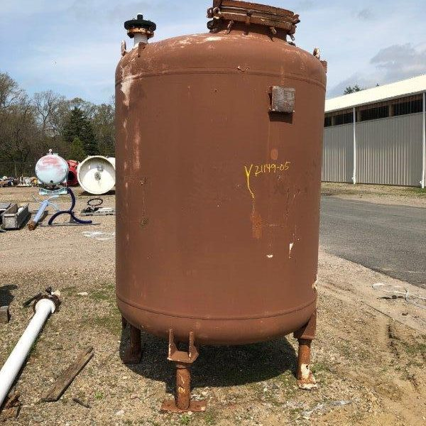 Used Glass Lined Tank
