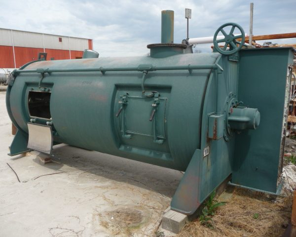 4200 Liter Littleford Model KM4200 304 Stainless Steel Continuous Mixer