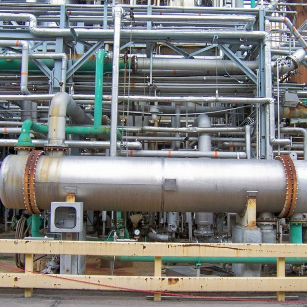 3010 Sq. Foot Titanium Limited Horizontal One-Pass Shell and Tube Heat Exchanger
