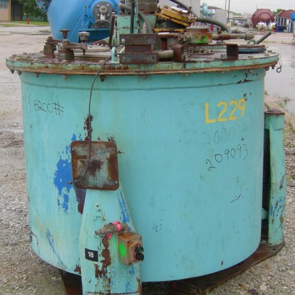 48″ X 30″ ATM Hastelloy C276 Perforated Basket Centrifuge