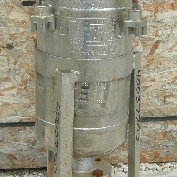 8.5″ X 17.5″ Mechanical Filtration 316 Stainless Steel Basket Strainer Filter