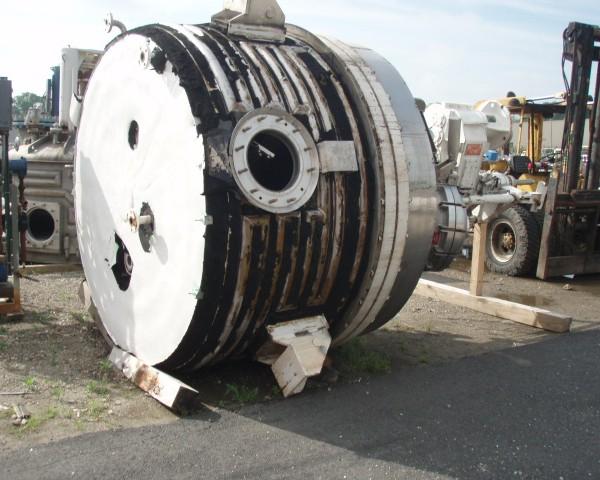4.0 Sq. M. Cogeim Stainless Steel Nutsche Filter Dryer