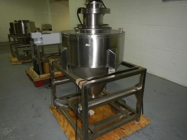 9.5 Cubic Foot B & G Stainless Steel Tote