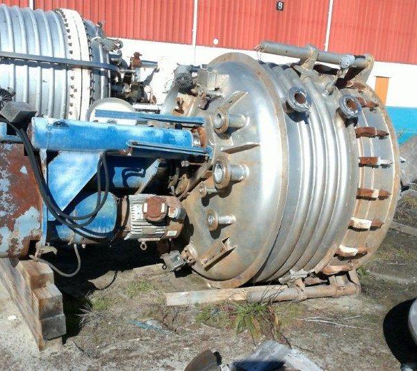 2.5 Sq. M. Rosenmund Hastelloy C276 Nutsche Filter Dryer