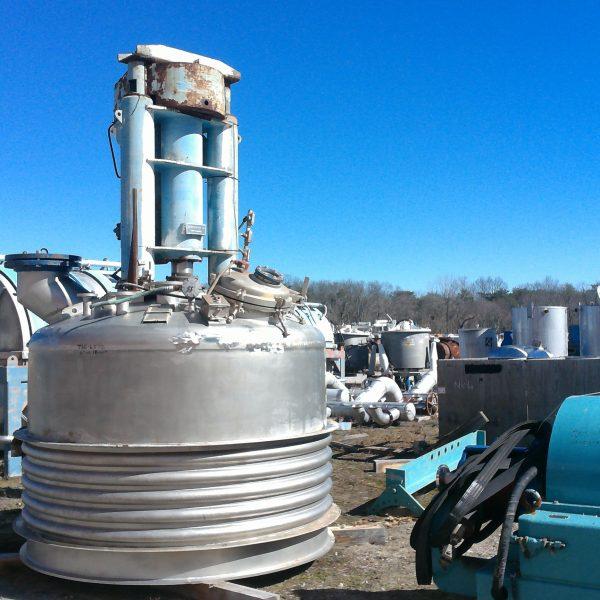 4.0 Sq. M. Rosenmund 316L Stainless Steel Nutsche Type Filter
