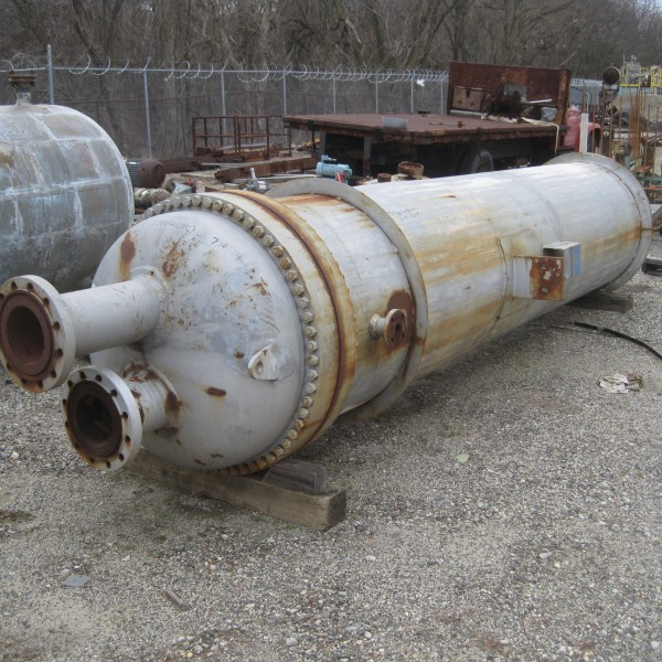 1964 Sq. Foot Superior Hardsurfacing Co. Inc. Vertical Shell and Tube Heat Exchanger