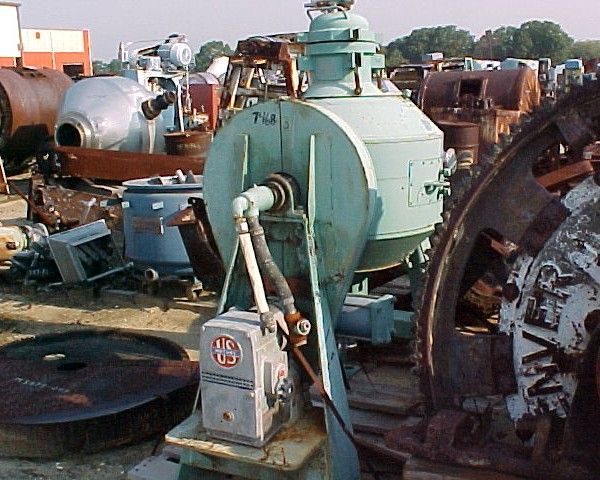 2 Cubic Foot Paul O Abbe Double Cone Jacketed Mixer