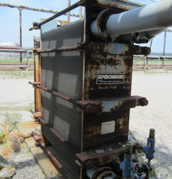 Used Plate Heat Exchangers