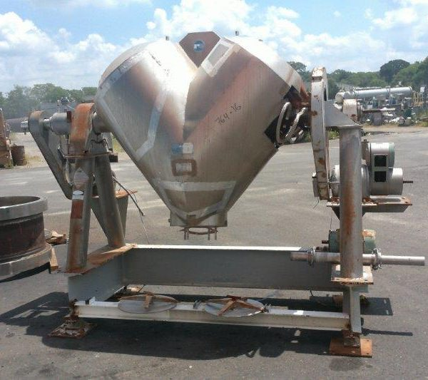20 Cubic Foot Patterson Kelley Stainless Steel Twin Shell Processor