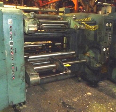 54″ Gloucester Mdl 124 Dual Turret Winder