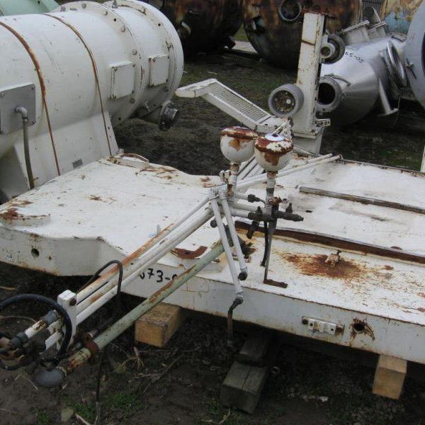 Westfalia CA656-001 650/380mm Bowl Dia 316 Stainless Steel Decanter