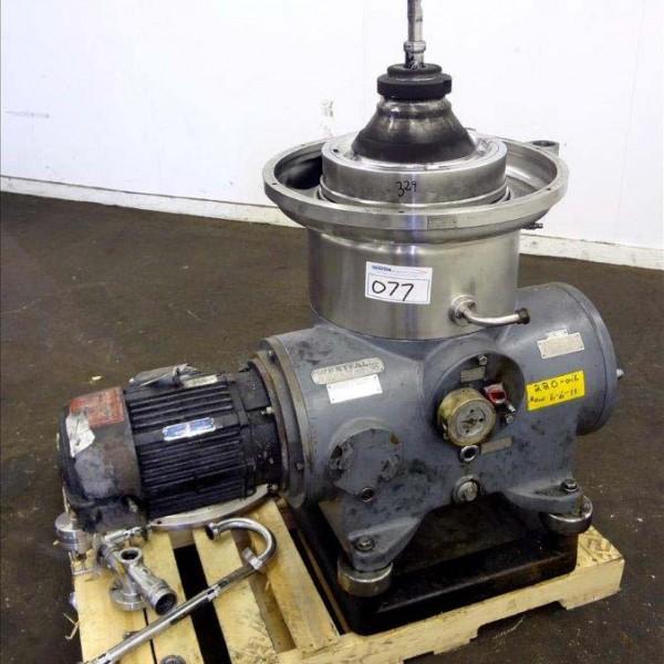 Westfalia Model SB-14-06-076 316 Stainless Steel Desludger Disc Centrifuge