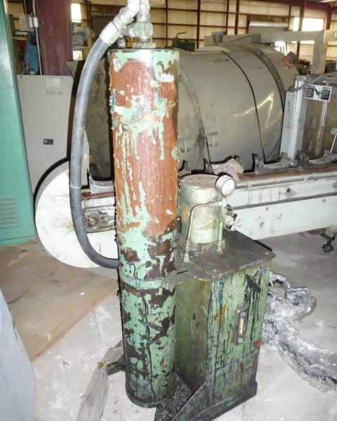 Hydraulic Power Pack Last Used on 4.5″ Gloucester Screen Changer
