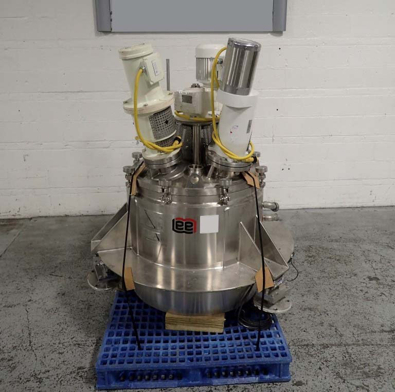 50 Gallon 100 PSI Jacket Stainless Steel Vertical Triple Motion Vessel
