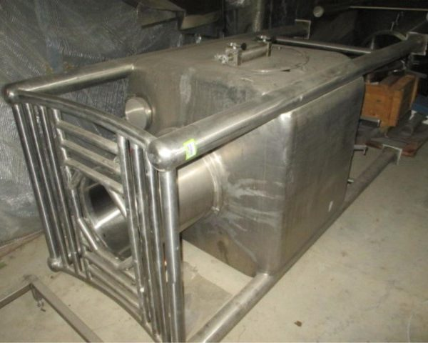 Stainless Steel Conical Storage Bin