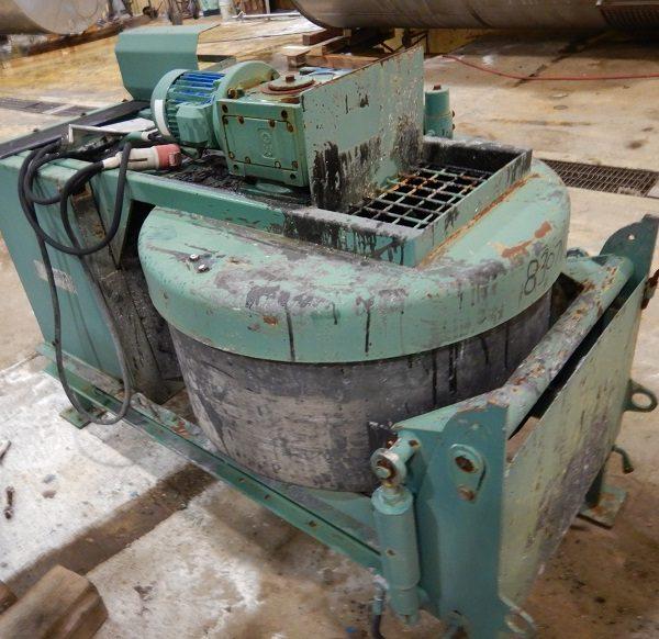 150 Liter (40 Gallons) 5 HP Schwelm Zyklos 3D Stainless Steel Forced Flow Mixer