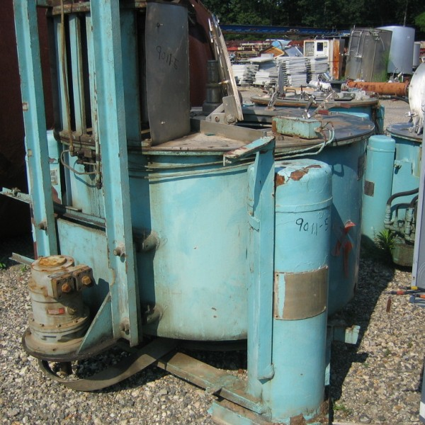 48″ X 20″ Tolhurst Stainless Steel Basket Centrifuge