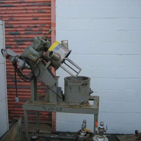 3/4 HP Charles Ross Stainless Steel Planetary Mixer
