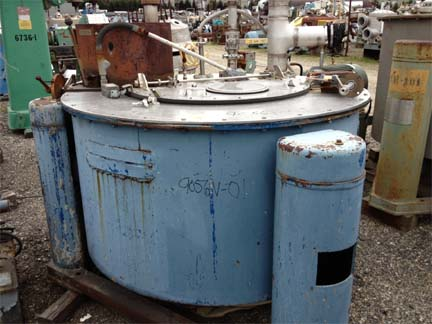 48″ X 20″ Tolhurst Stainless Steel Perforated Basket Centrifuge