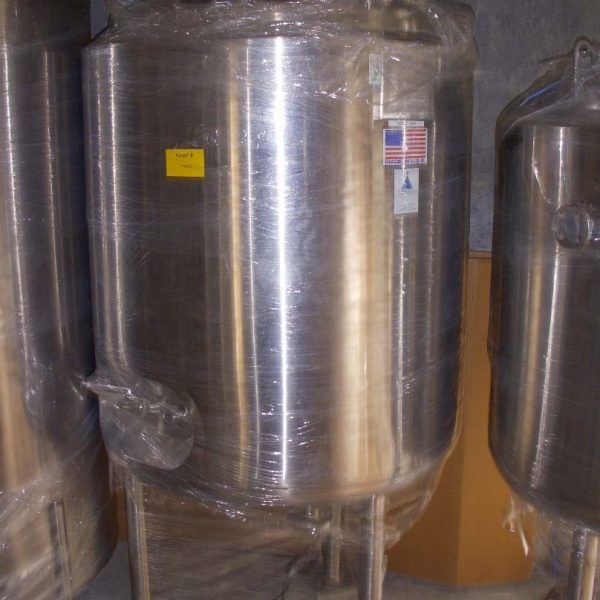 130 Gallon 50 PSI Internal, 65 PSI Jacket 316L Stainless Steel Reactor