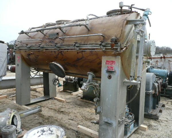 4200 Liter Purnell Model HKM4200 Stainless Steel Mixer